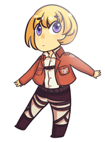 Chibi Armin by Neon-Season