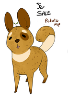 potato pup closed auction by Densetsugin