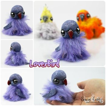 LoverBird the OOAK BonBun Art Doll FOR SALE by Sovriin