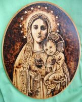 Immaculate Heart by Theophilia