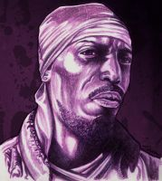 Omar Little from The Wire by sammo371