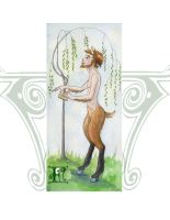 F is for Faun by XgothberryX