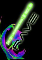 Rave - Poster Green 1 by Magic92
