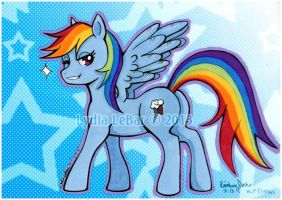 MLP Rainbow Dash by Lilly-Lamb