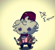 Doctor Who? Espurr of course. by LazyOwls