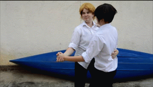 Erwin x Levi Gif - Dip by Pudique