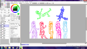 Halloween Picture W.I.P by Wall-Staples