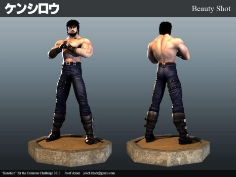 CC10: Kenshiro Beauty Shot by Jiggeh