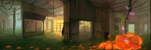360 panorama painting by Qels