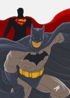 Superman Vs Batman by Hal-2012