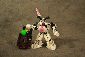 Easter Bunny: Holiday MOC by welcometothedarksyde