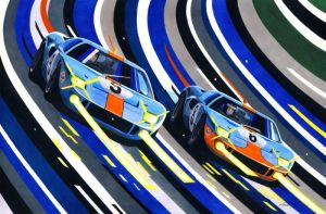 Daytona duel by klem