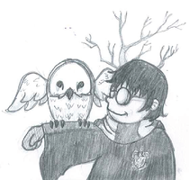 Quick sketch 2 Harry Potter by ViciousJulious
