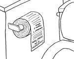 George Bush's Toilet Paper by ZarelSL