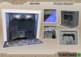 Tudor House - Fireplace No.2 by DTHerculean