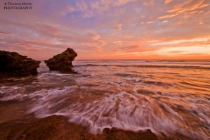 Sunset at Pt Lonnie by DanielleMiner
