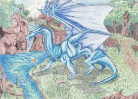 Azure Dragon by Caedus6685