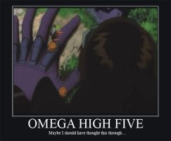 Omega high five by AidanAK47