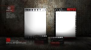 Silver Screen letterhead by behruz