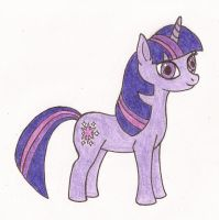Twilight Sparkle by kiinastar