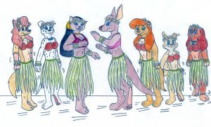 Hawaiian Hypno Anthros by Jose-Ramiro