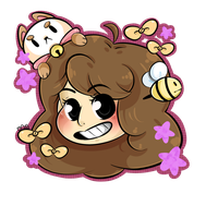 Bee and Puppycat by DarkMagic-Sweetheart