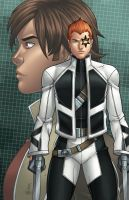 Shatterstar and Rictor - Legacy by JamieFayX