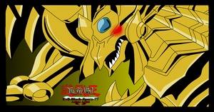 The winged dragon of Ra by Evil-Black-Sparx-77