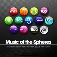 Icons Music of the Spheres by NekoAmine