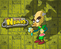 Dr. N. Brio Wallpaper by E-122-Psi