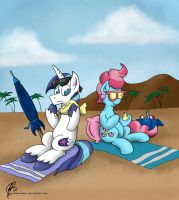 Pass the Sunscreen by Johansrobot