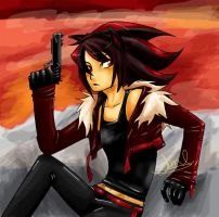Shadow the Hedgehog by Tlaloca