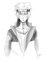 Naruto Sketch by VermilionFly