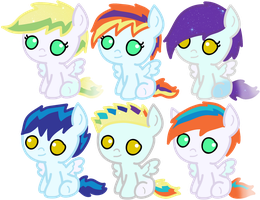 Foals for Owl-P-Stables [C] by Neoceltia