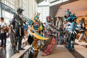 AFA Singapore 2013: Monster Hunters Unite 2 by DragonicHeaven