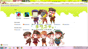 APH Google Chrome theme by AshandSnow