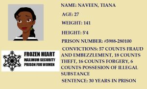 Tiana's Mugshot by gregterry480