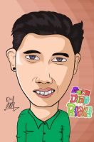 Dian Risky Cartoon by dicky10official