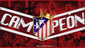 CAMPEON Atletico Madrid by Meridiann