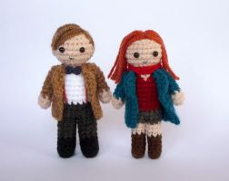 Amy and the Doctor by LunasCrafts
