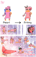 Frinny the  Platypus (Pearl the Platypus RENEWAL) by 13Hael