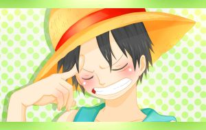 Luffy by Alisian