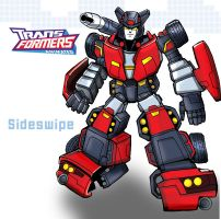 Transformers Sideswipe by ninjha