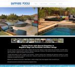 Sapphire Pools Mesa Wordpress Custom Design by joshjacoby