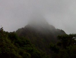 Misted Mountain by Ogachi