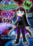 Fairly Goth Parents - Gothic Trixie Tang by Silent-Sid