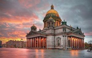 Kazan Cathedral. St-Petersburg, Russia by Callmar