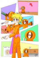 Kenny in home ec by eikosalia
