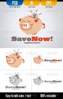 Save Now! (logo - template) by doghead