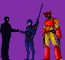 Surt and Jinx by Andrew-Parkin